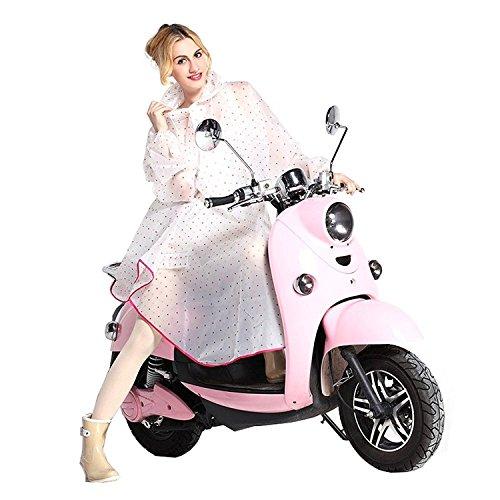 Regenjacken Damen Regen Poncho mit Kapuze wasserdicht Regenmantel modische Regenkleidung für Fahrrad-Motorrad – Très Chic Mailanda