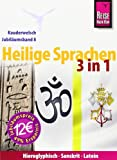 Reise Know-How Kauderwelsch Heilige Sprachen 3 in 1: Hieroglyphisch, Sanskrit, Latein: Kauderwelsch-Jubiläumsband8