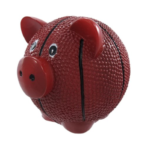 Funny Basketball Pig Piggy Bank Sports - 1