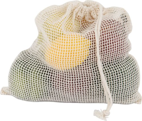 Eco-Bags Products Net Sack Produce Bag Organic Cotton