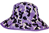 Banz Reversible UV Bucket Sun Hat - Purple Camo 0-2y