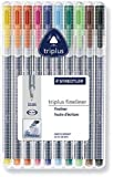 ステッドラー 334 SB10 トリプラス ファインライナー 細書きペン 10色セット(線幅0.3mm)