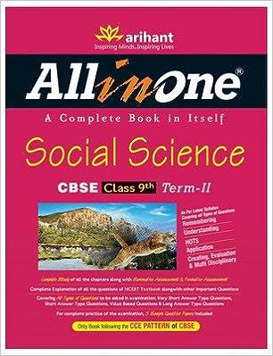 All in One Social Science : CBSE Class 9th Term - 2 1st Edition price comparison at Flipkart, Amazon, Crossword, Uread, Bookadda, Landmark, Homeshop18
