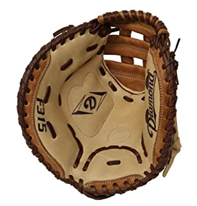 Buy Diamond Sports Youth Fastpitch Catcher's Mitt (Lefty, Fits on Right Hand) by Diamond Sports