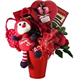 Art of Appreciation Gift Baskets Love Bug Valentine's Day Chocolate and Candy Gift Set