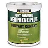 TiteBond GREENchoice Neoprene Plus Contact Cement, Clear Quart