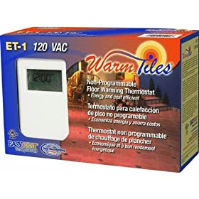 Easy Heat Inc. ET1 Nonprogrammable Thermostat