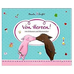 Stickerbuch - Von Herzen!: 144 Etiketten und Motivsticker