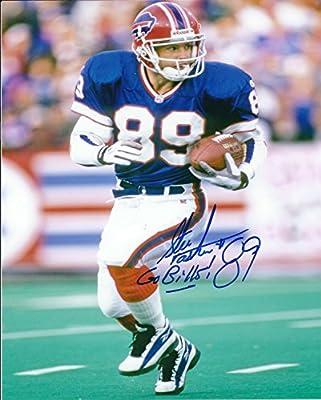 Autographed Steve Tasker 8x10 Buffalo Bills Photo