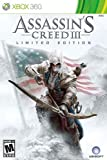 Assassins Creed III Limited Edition -Xbox 360