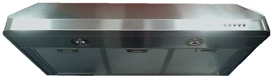 "Verona VEHOOD3610 36"" Under Cabinet Range Hood with 600 CFM Power in Stainless Steel"