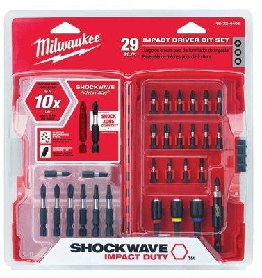 Milwaukee Electric Tools - 29Pc Shockwave Driver Bit Set - 495-48-32-4401