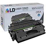 LD © Compatible Replacement for Hewlett Packard CE505X (HP 05X) High Yield Black Laser Toner Cartridge for use in HP LaserJet P2055d, P2055dn, and P2055X Printers
