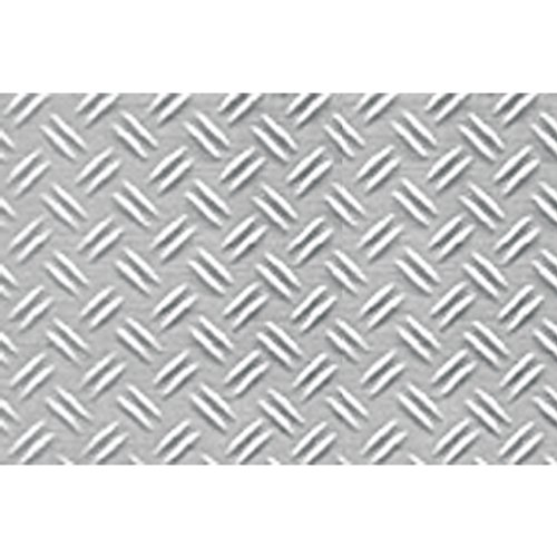 JTT Scenery Products Plastic Pattern Sheets: Double Diamond Plate