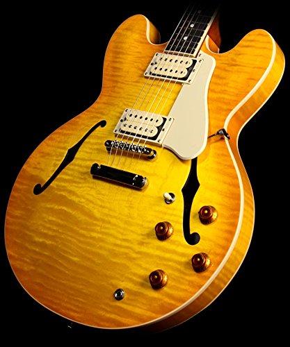 Gibson Memphis Limited Edition Es-335 Electric Guitar Lemonburst