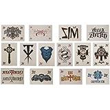WWE Tattoos - Set of 14 Temporary WWE Tattoos