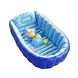 Infant Inflatable bath barrel bath bathtub large portable swimming pool warm thick