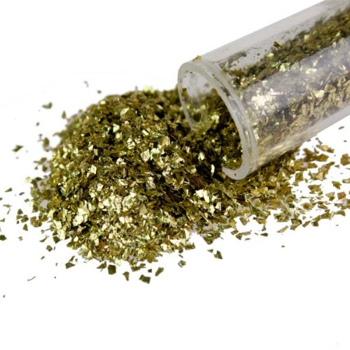tube-of-gold-glitter-flakes