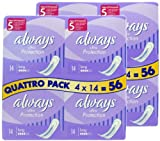 112x Always Ultra Protection Sanitary Towels Long Pads, Feminine Care