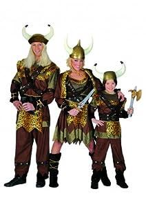 kost m f r kinder kind 116 wikinger viking wiking braun historisch kinderkost m. Black Bedroom Furniture Sets. Home Design Ideas