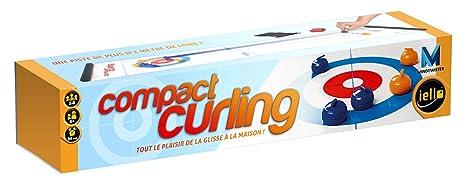 Iello - 51151 - Jeu D'action Et De Réflexe - Compact Curling