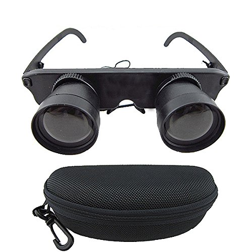 Foocc 3X28 Magnifier Glasses Fishing Optics Binoculars Telescope Theater