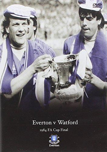 1984 FA Cup Final Everton v Watford [Region 2 DVD]