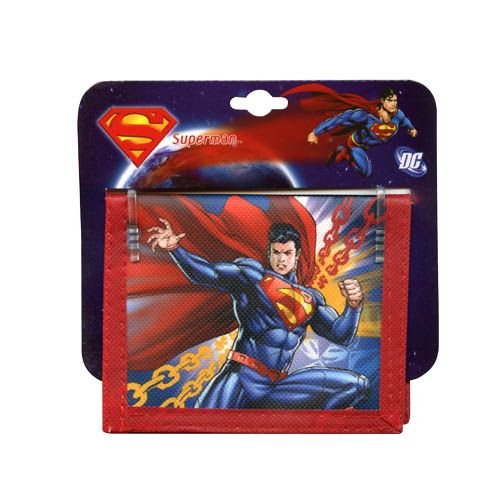 WeGlow International Superman Bi-Fold Wallet (Set of 3)