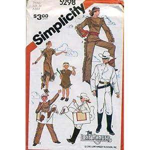 cowgirl costume pattern - Walmart.com