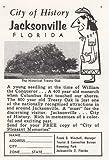 1959 Jacksonville, Florida: Historical Treaty Oak, Jacksonville Florida Print Ad