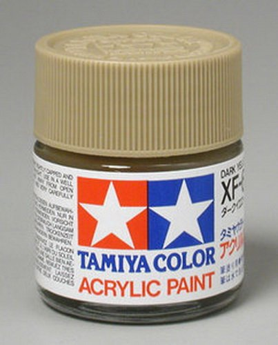 Tamiya Acrylic XF60 Dark Yellow 23ml Bottle