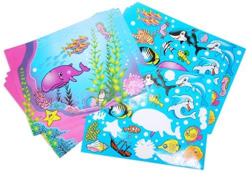 Design Your Own Aquarium Sticker Scene (1 dz) - 1