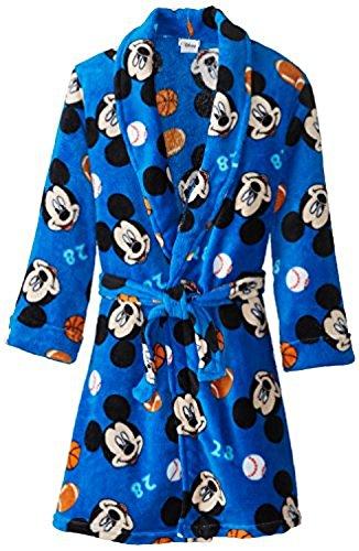 Disney Big Boys' Mickey Mouse Bathrobe in Sports Motif K157467MM 4/5