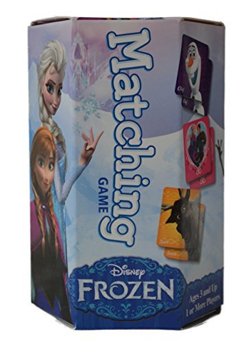 Disney's FROZEN Matching Tiles Game