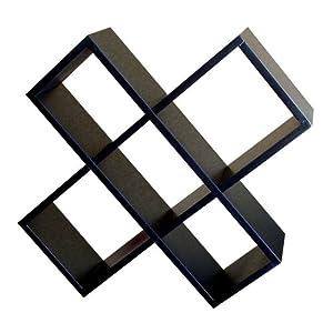 ORE International CD Rack - Black