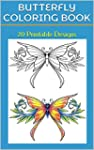 Butterfly Coloring Book: 20 Printable...