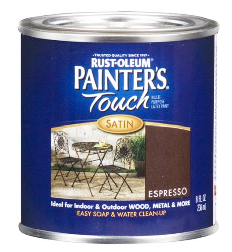 rust-oleum-242054-painters-touch-1-2-pint-latex-satin-espresso