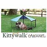"Kitty Walk Carousel Pet Enclosure 48"" diameter x 24"""