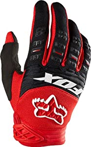 Fox Racing Dirtpaw Glove: Race Red; XL