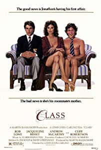 Class Movie Poster (11 x 17 Inches - 28cm x 44cm) (1983) Style A -(Jacqueline Bisset)(Rob Lowe)(Andrew McCarthy)(Cliff Robertson)(John Cusack)(Stuart Margolin)