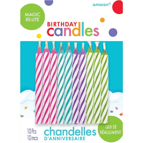 Magic Relight Stick Candles - 1