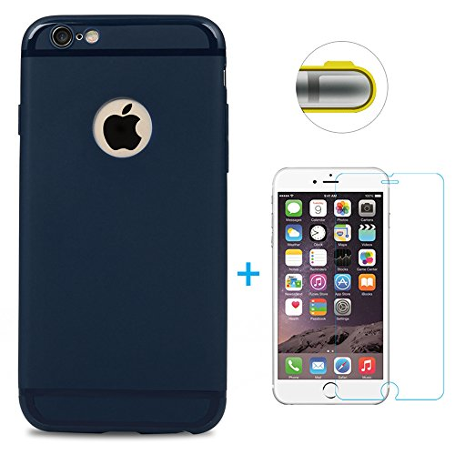 iphone-6-6s-funda-silicona-mate-antideslizante-vidrio-templado-protector-de-pantalla-maviss-diary-su