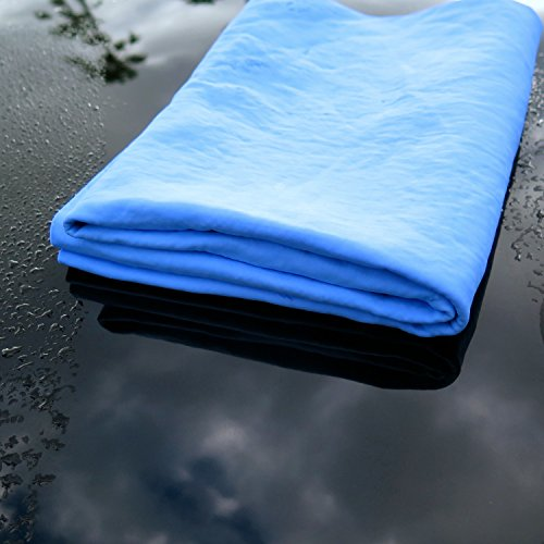 Microfiber Cloth Or Chamois: Premium Synthetic Car Drying Towel