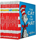 Dr. Seuss Collection 12 Books Set Pack (Fox in Socks, The Cat in the Hat Comes Back, Dr. Seuss' ABC, Hop on Pop, There's A Wocket In My Pocket, Horton Hears A Who!, Dr. Seuss' Sleep Book, Scrambled Eggs Super! and more) Dr. Seuss