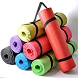 Thick Cushioned Pilates and Yoga Mat 182cm x 60cm x 16mm