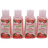 ZUCI - JUNIOR Pack Of 4 Hand Sanitizer Strawberry, 30 Ml Each