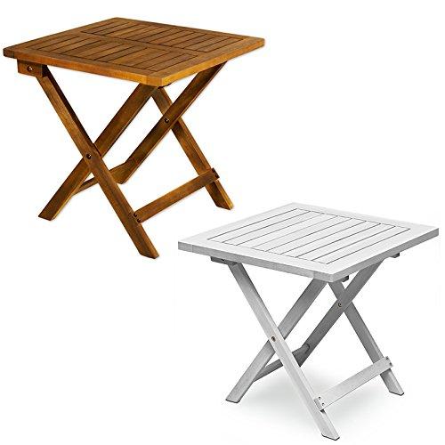 Beistelltisch - Holztisch Kaffeetisch Klapptisch Hartholz