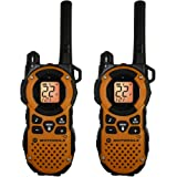 Motorola MT350R Giant MT350R FRS Weatherproof Two-Way - 35 Mile Radio Pack - Orange
