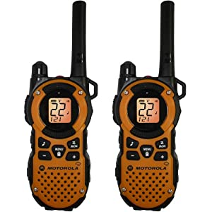 Motorola Mt350r Giant Mt350r FRS Weatherproof Two-way 35 Mile Radio Pack Orange