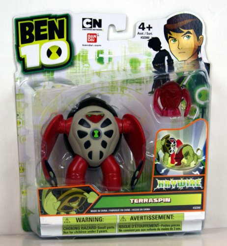 "Ben 10 Ultimate Alien 4"" Terraspin Haywire (Includes Minifigure)"